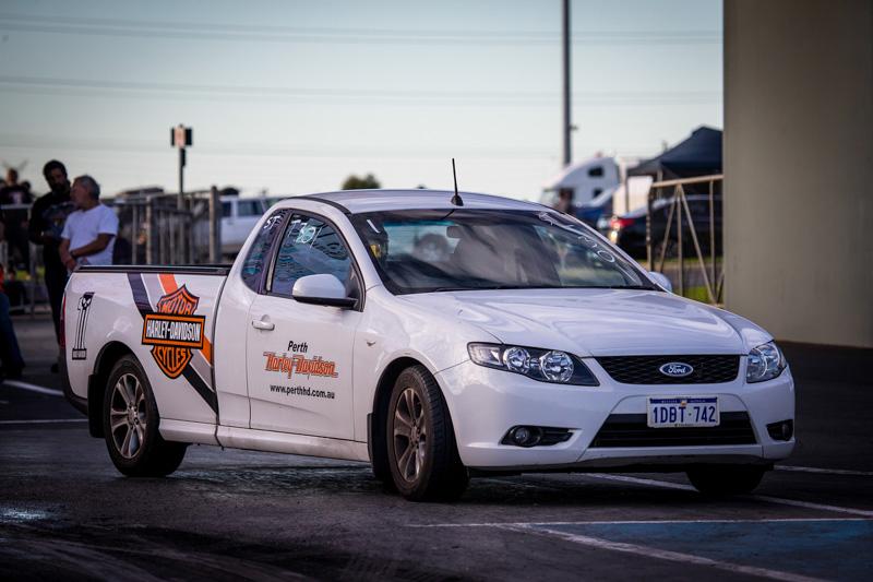 Holden vs Ford at Perth Motorplex