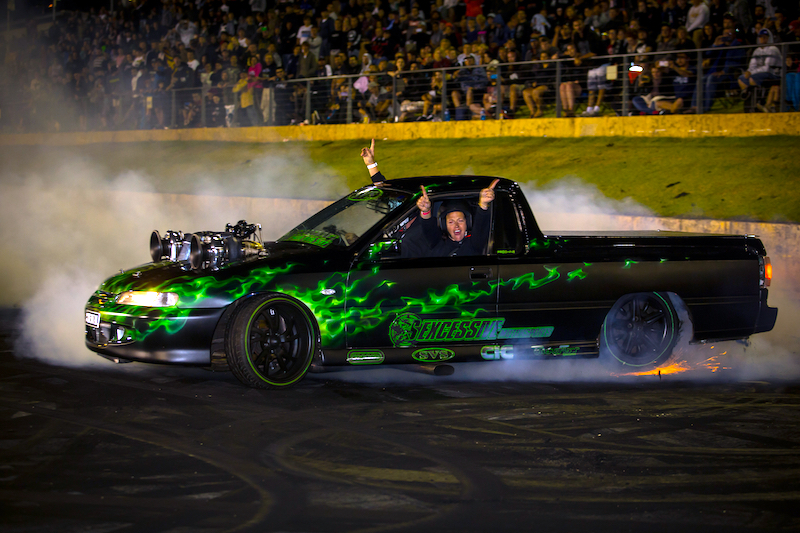Badass Burnouts at Perth Motorplex