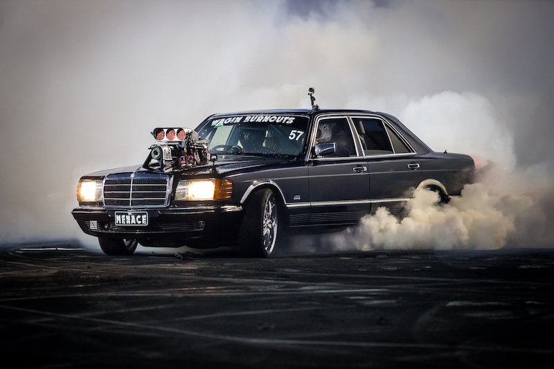 Shot at Burnout Blitz at Perth Motorplex, presented by Kwinana Performance