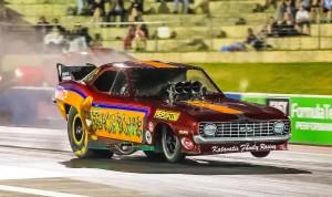 Aeroflow Outlaw Nitro Funny Car Round