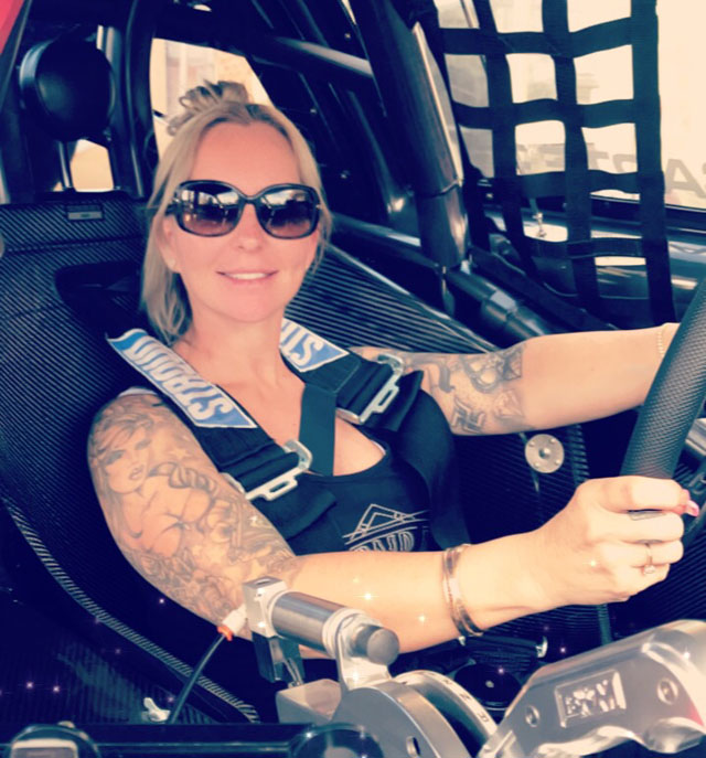 Top Sportsman racer Amanda Martin is the winner of the prestigious 2019 Gary Miocevich Award of Excellence in the Sport of Drag Racing Award